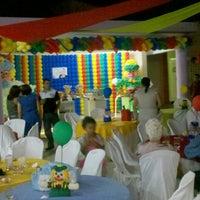 Photo taken at Brincadeiro buffet by Elton F. on 9/6/2012
