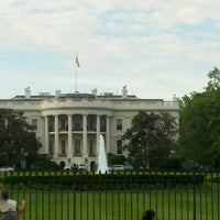 Photo taken at The White House Southeast Gate by William C. on 5/4/2012