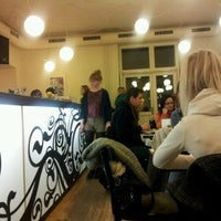 Photo taken at Café Podnebi by Barbora P. on 2/8/2012