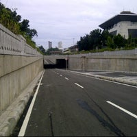 Photo taken at Underpass Trunojoyo by Dody S. on 3/10/2012