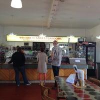 Photo taken at Sara's Tearooms by Chris B. on 8/24/2012