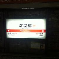 Photo taken at Midosuji Line Yodoyabashi Station (M17) by Juho H. on 10/7/2011