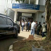 Photo taken at Kantor Imigrasi Kelas 1 Khusus Jakarta Selatan by Adi S. on 3/11/2011