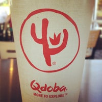 Photo taken at Qdoba Mexican Grill by Joe C. on 12/24/2011