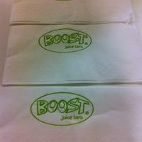 Photo taken at Boost Juice Bar by ooi s. on 10/11/2011