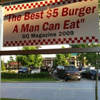 Photo taken at Five Guys by Steven L. on 7/17/2012