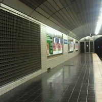 Photo taken at Exchange Place PATH Station by The Official Khalis on 9/14/2011