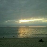 Photo taken at Praia de Samil by Marta F. on 8/22/2011