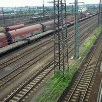 Photo taken at Bahnhof Dresden-Friedrichstadt by Tigra . on 6/26/2011