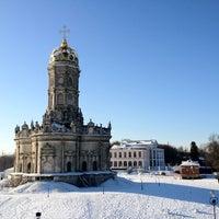 Снимок сделан в Усадьба князей Голицыных в Дубровицах пользователем Ирина М. 1/29/2012