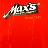 Photo taken at Max's Restaurant by Marites S. on 5/23/2012