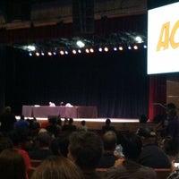 Photo taken at Kiva Auditorium by Conan M. on 6/10/2012
