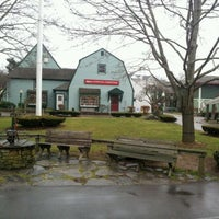 Photo taken at Olde Mystic Village by Cera C. on 12/31/2011