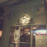 Photo taken at C U Sushi by Nick B. on 1/14/2012