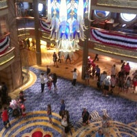 Photo taken at Disney Dream by Charley P. on 7/4/2012
