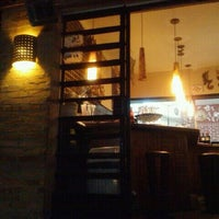 Photo taken at Mascarino Pizza Bar by Mauricio S. on 1/22/2012