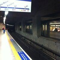 Foto tirada no(a) Estação Vila Mariana (Metrô) por George em 9/2/2012
