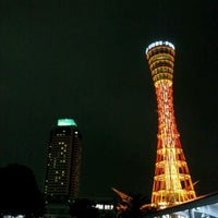 Photo taken at Kobe Port Tower by Shin I. on 11/5/2011