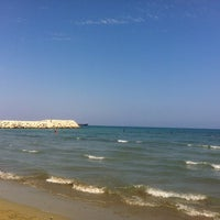 Photo taken at Larnaca Marina by Elena on 7/23/2012