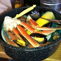 Photo taken at Joe's Crab Shack by Jamie L. on 7/21/2011
