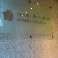 Photo taken at Escuela de Negocios Abanca by Bluecat G. on 1/30/2012