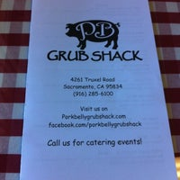 Photo taken at Pork Belly Grub Shack by Jacqueline O. on 6/14/2012
