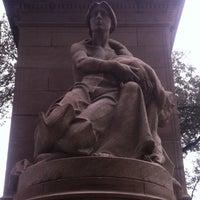 Photo taken at Firemen's Memorial by Mandola Joe on 10/13/2011
