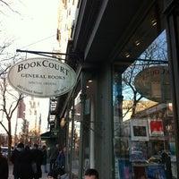 Photo taken at BookCourt by David K. on 2/26/2012