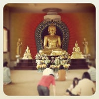 Photo taken at Vihara Jakarta Dhammacakka Jaya by Denny W. on 6/3/2012
