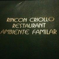 Photo taken at Rincon Criollo by John P. on 9/30/2011