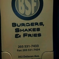 Photo taken at Burgers, Shakes & Fries by Lizzie C. on 12/27/2011