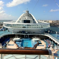 Photo taken at Caribbean Princess - Southern Caribbean Cruise by Bill G. on 1/22/2012