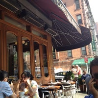 Photo taken at Cafe D'Alsace by Andrea on 8/25/2012