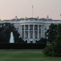 Photo taken at The White House Southeast Gate by Shara H. on 7/6/2012