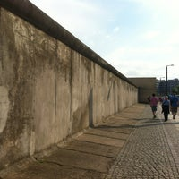 Photo taken at Berlin Wall Memorial by Anastasi R. on 8/5/2012