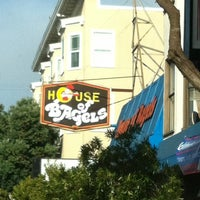 Photo taken at House Of Bagels by Melissa B. on 9/17/2011