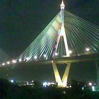 Photo taken at Bhumibol 1 Bridge by Thanongsak M. on 10/2/2011