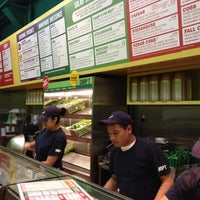 Photo taken at Chop't Creative Salad Company by Dennis N. on 4/14/2012