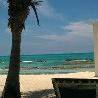 Photo taken at Playa - Beach by Victoria G. on 7/14/2012
