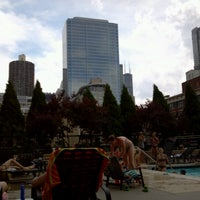 Photo taken at Grand Plaza Pool by Laura B. on 6/16/2012