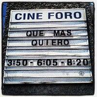 Photo taken at Cineforo Universidad by Tapatío M. on 6/11/2012
