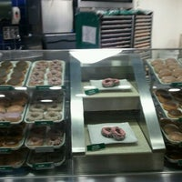 Photo taken at Krispy Kreme Doughnuts by Greg d. on 2/25/2011