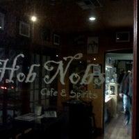 Photo taken at Hob Nobs Cafe & Spirits by Josh R. on 11/7/2011
