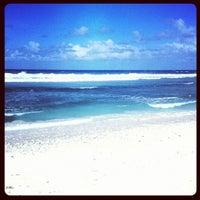 Photo taken at Fafa Island Resort Hotel by Antonio L. on 7/1/2012