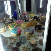 Photo taken at Voodoo Doughnut Tres by Jason L. on 11/19/2011
