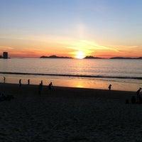 Photo taken at Praia de Samil by Fer M. on 8/20/2011
