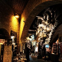 Photo taken at Camden Stables Market by Chris M. on 11/25/2011
