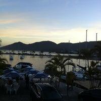 Photo taken at Marina Ponta da Areia Bar e Restaurante by 🎀Andrea S. on 5/5/2012