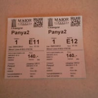Photo taken at Major Cineplex Chiang Rai by ab s. on 1/29/2012