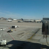 Photo taken at Gate A30 by Kaley L. on 12/31/2011